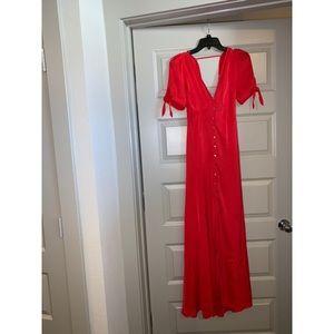 Express Karlie Kloss Maxi Dress - Beautiful Red!